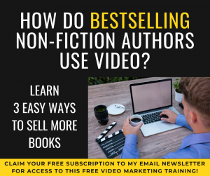 How Bestselling Non-fiction Authors Use Video